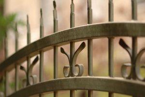 brama bez napędu